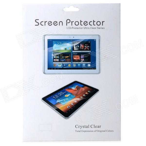 Beskyttende kjæledyr klar Screen Protector vakt Film for Samsung Galaxy Note 10,1 N8000 (2 deler)