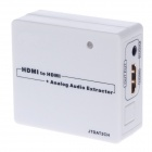 122-V2 HDMI к HDMI Audio Converter Adapter - белый