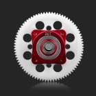 F008 20T Aluminum Alloy + ABS Motor Gear for R/C 1/10 Drifting Racing Car - White + Red