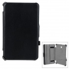 Protective Flip-open PU Leather Case for Asus 372 - Black
