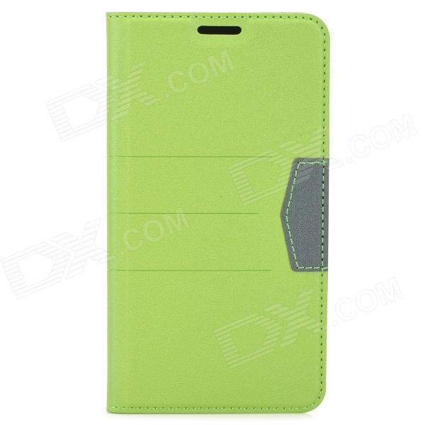 Protective PU Leather Matte Case Cover Stand for Samsung Galaxy Note 3 N9000 - Green kalaideng protective pu leather case cover w stand for samsung galaxy note 4 black