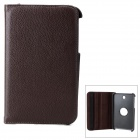 Protective Rotation PU Leather Case w/ Stylus for Samsung Galaxy Tab 3 7.0 T210 / T211 / P3200