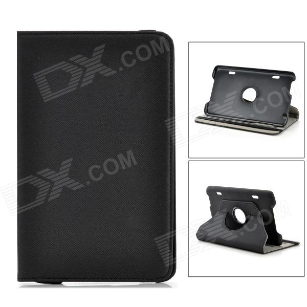 "Protective PU Leather for 8.3"" LG V500 G Pad - Black"
