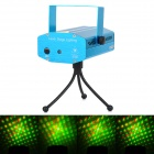 Zweihnder WMXL-099 24-Pattern 15W Red / Green Light Stage Laser Projector - Blue (AC 110~240V)