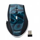 RH5288 WLAN 1000 / 1600dpi Optical Gaming Mouse - Schwarz + Blau