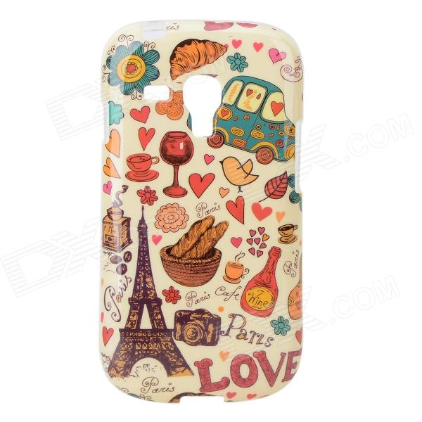 Housse de protection TPU pour Samsung Galaxy S3 Mini i8190 / i8160 - multicolore