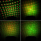 Zweihnder WMXL-058 4-Pattern 15W Red / Green Light Stage Laser Projector - Blue (AC 110~240V)