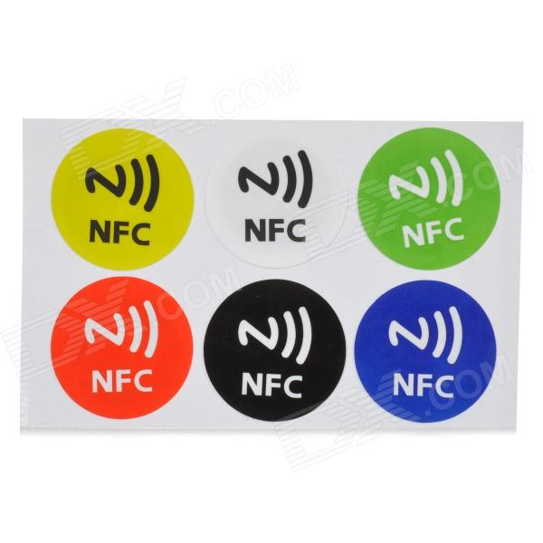122806 Erasable NFC Smart Labels Kit for Cell Phone (6 PCS) samsung download