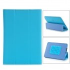 PU Leather Speaker Case w/ Rechargeable Battery for 7 Tablet PC - Blue + Black