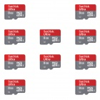 SanDisk 8GB Mobile Ultra 200x MicroSDHC Flash Memory Cards 30MB/s (10 PCS)