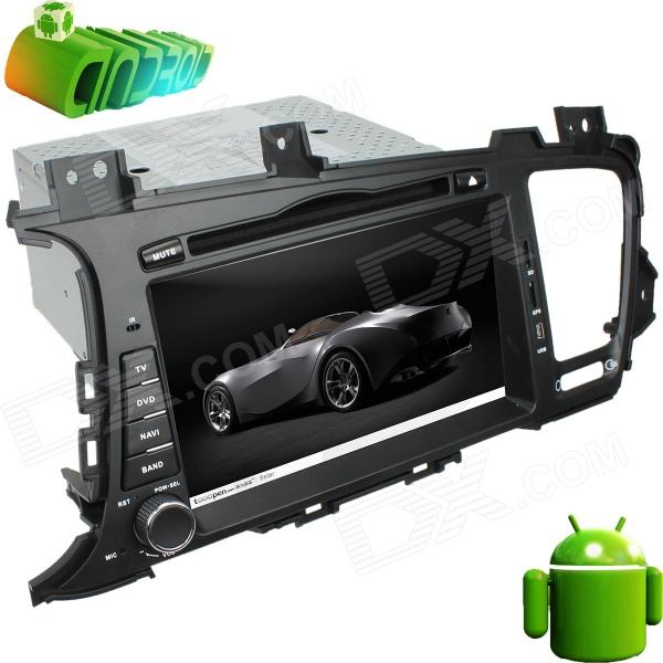 "LsqSTAR 8"" Android 4.0 Car DVD Player w/ GPS,RDS,WiFi,PIP,TV,SWC,Radio,3DUI,Dual Zone for K5/OPTIMA"