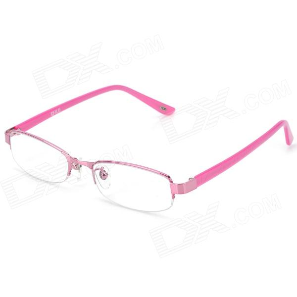 yidun 8037 zinc alloy frame resin lens eyeglasses for women pink