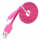Micro USB Data / Charging Cable for LG Nexus 5 / 4 / E960 + More - Deep Pink