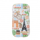 Protective TPU Back Case for Samsung Galaxy S3 Mini i8190 / i8160 - Multicolored