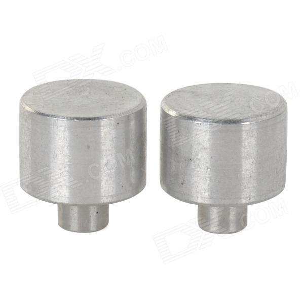 16150 Dummy Battery Placeholder Cylinders - Silver (2 PCS)