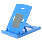 K2 Folding ABS Stand Holder for IPHONE / IPAD / IPOD - Blue