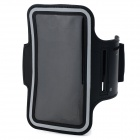 Sports Protective Neoprene Armband for Samsung Galaxy S4 / i9500  - Black + White
