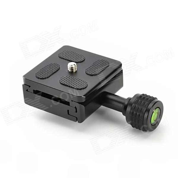 "1/4"" 50mm Aluminum Alloy Quick Release Plate - Black"