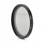 ND2-400 Variable ND Filter for 62mm Lens Camera - Black + Transparent