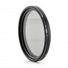 ND2-400 Variable ND Filter for 58mm Lens Camera - Black + Transparent