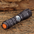 LSON SK-72 LED 150lm 3-Mode White Zooming Flashlight - Grey (1 x 14500 / AA)