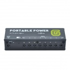 Caline CP-06 Portable Multi-way Power for Effects - Black