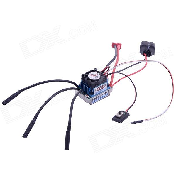 HSP TD-009 45A Brushless ESC / Electrical Speed Controller for RC Car great hobbyking extreme short course short course brushless motor 120a 2s 4s esc speed controller for 1 8 1 10 suv car