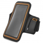 Protective Neoprene Sports Armband for Samsung Galaxy Note 3 N9000 - Black + Yellow