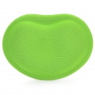 Heart Shaped Mouse Wrist Pad - Green