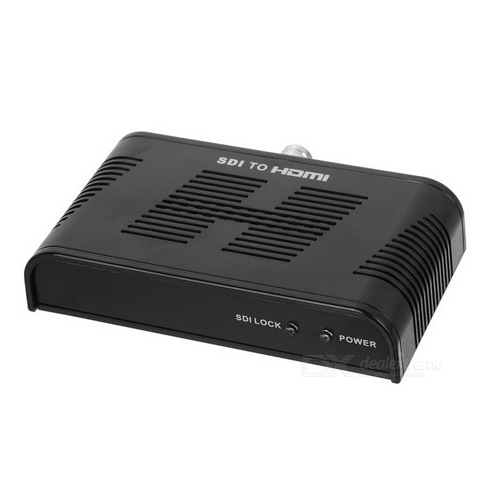 123-V3 SDI to HDMI Converter - Black (100-240V)