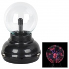 Magic 4 Port USB 2.0 HUB Plasma Ball Sphere - Black