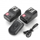 Wansen PT-16GY Wireless / Radio Flash Trigger w/ 2 Receivers - Black