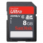 SanDisk 8GB Ultra 200x SDXC Flash Memory Card 20MB/s