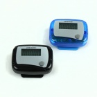 "0.9"" LED Pedometer - Blue + Black (2 PCS / 1 x AG10)"