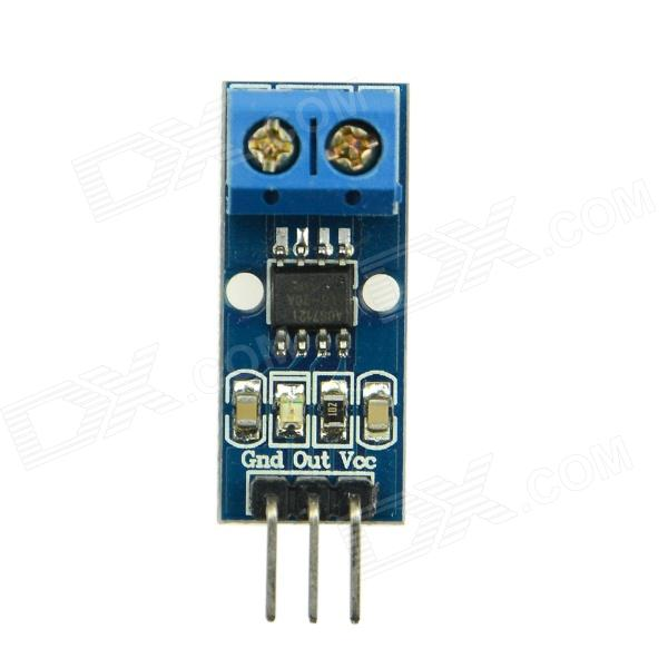 Produino ACS712ELC-20A Range ACS712 Current Sensor Module for Arduino - Blue itead acs712 current sensor module dc ┬▒ 5a ac current detection module works w official arduino