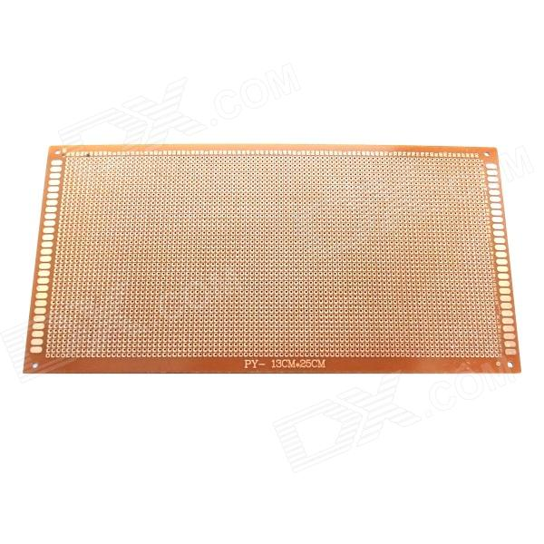PCB1325 1.2mm 13cm x 25cm Bakelite PCB Circuit Board - Dark Orange  pcb79 1 2mm 7 x 9cm bakelite pcb circuit boards dark orange 5 pcs