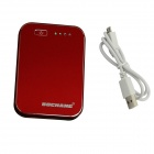 BOCHANG AKMB010 6000mAh Hand Warm Mobile Power Bank Chargeur pour IPHONE / Samsung + Plus - Rouge