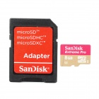 SANDISK Micro SD / TF 8GB Extreme Pro Card w/ TF Card to SD Card Adapter - Black (8GB)