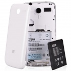 "ZTE Q501U Quad Core Android 4.2 WCDMA Bar Phone w/ 5.0"", Camera, Bluetooth - White"
