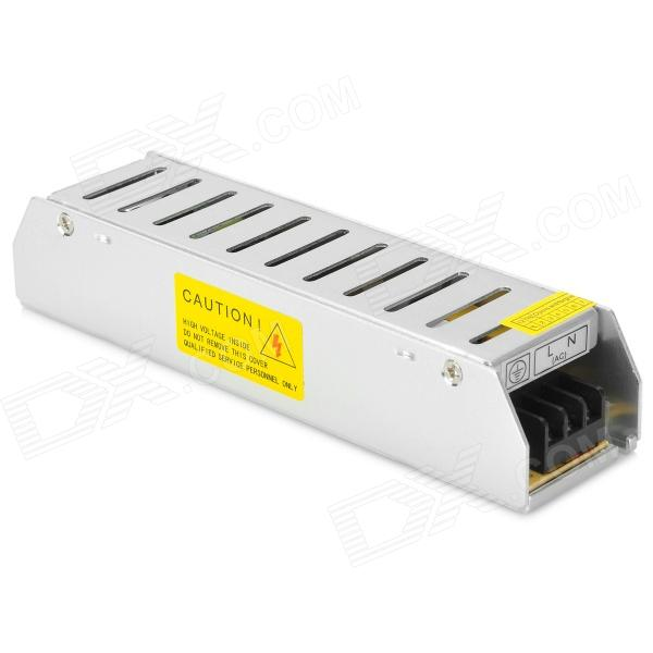 SPE-60W Aluminum Alloy 5A Switch Power Supply - Silver