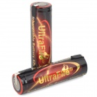 "UltraFire Rechargeable 18650 ""4250mAh"" Li-ion Batteries w/ Solder Tabs - Black + Red (2 PCS)"
