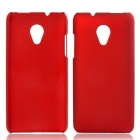 Fashionable Super Thin Protective Glaze PC Back Case For HTC Desire 700 - Wine Red