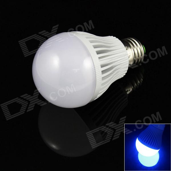 E27 7W 480lm 14 x SMD 5730 LED Blue Light Lamp Bulb - (AC 85~265V) 1pcs high power e27 7w led light energy saving smd 5730 led bulb home lighting energy saving bulb for living room