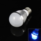 E27 3W 180lm 3-LED Blue Light Lamp Bulb - (85~265V)