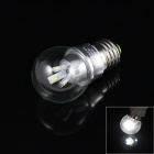 E27 3W 150lm 6000K 6 x SMD 5630 LED White Light Lamp Bulb - (85~265V)