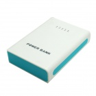 "Portable ""13000mAh"" External Battery Charger Power Source Bank for Samsung + More - Black + Blue"