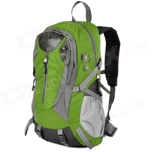 Creeper 3912 Outdoor Nylon Mountaineering Bag - Green + Grey (40L) creeper 3920 outdoor nylon mountaineering backpack bag red black 50l