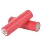 Sanyo Rechargeable 18650 2200mAh Li-ion Batteries - Red (2 PCS)