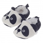 BY-5203 Cute Panda Cartoon Style Anti-Slip Comfortable Cotton Baby Shoes - ( 3~6 Months / Pair)