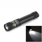 ELIFE F11 LED 85lm Cool White Light Mini Flashlight - Black (1 x AAA)